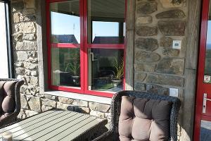 Barnwood stone + French country villa = sant