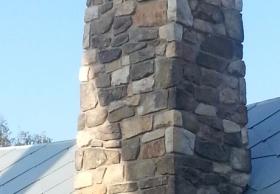 Fasadsten på Lisebergsattraktion