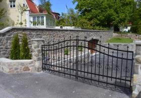 Garagevägg i Vimmerby