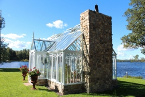 Växthus i Svartå